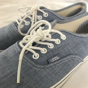Womens Jean Colored Classic Vans